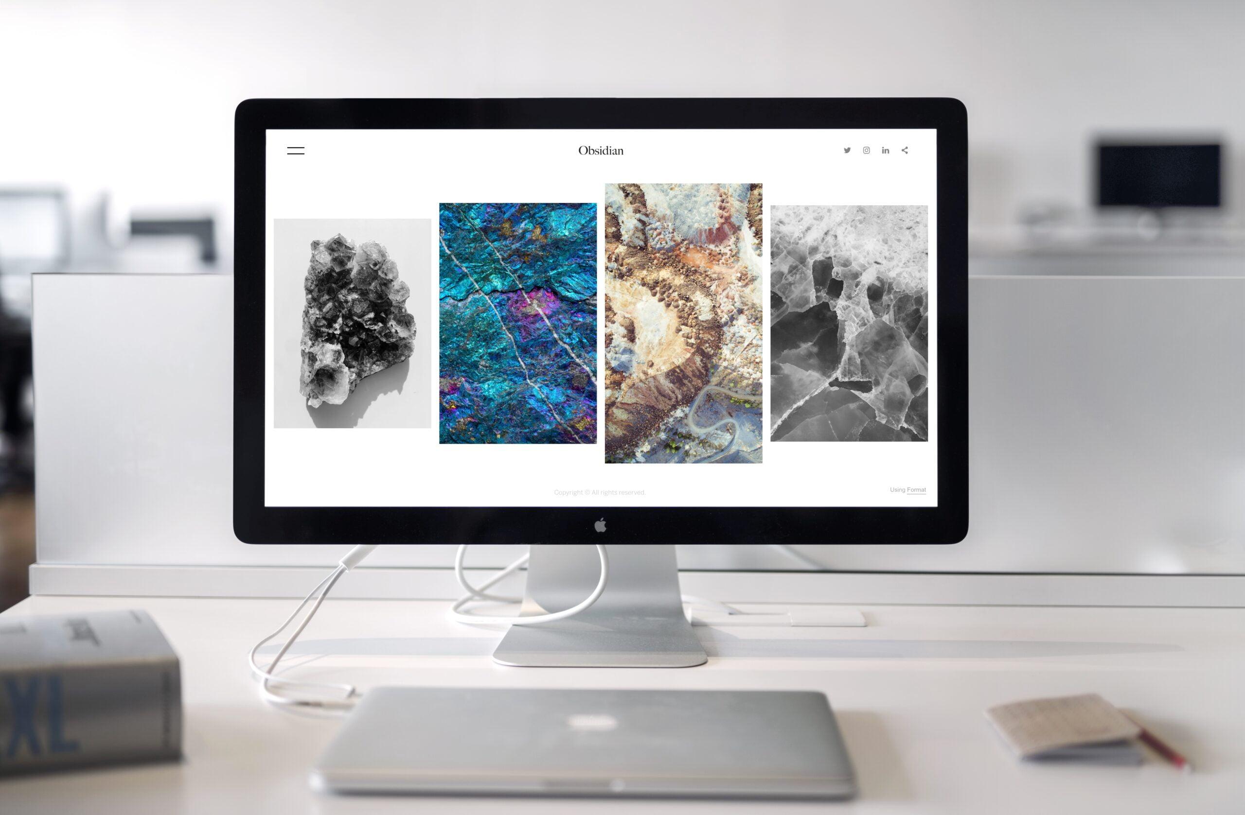 O prezenta puternica in online incepe cu un site de prezentare cu design elegant si personalizat